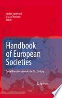 Handbook Of European Societies Book PDF