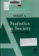 Journal of the Royal Statistical Society Book
