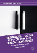 Institutional Racism in Psychiatry and Clinical Psychology [Pdf/ePub] eBook