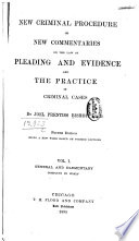New Criminal Procedure  General and elementary  complete in itself