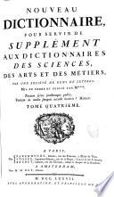 Encyclopédie, ou dictionnaire raisonné des sciences, des arts et des métiers, par une société de gens de lettres