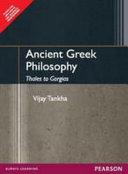 Ancient Greek Philosophy  Thales to Gorgias