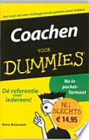 Coachen Voor Dummies Pocketeditie