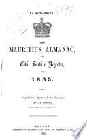 The Mauritius Almanac and Civil Service Register