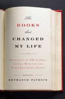 The Books That Changed My Life Pdf/ePub eBook
