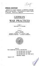 German War Practices Book PDF