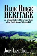 Blue Ridge Heritage