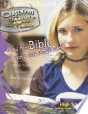 Does the Bible Have Any Answers?