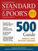 Standard and Poor's 500 Guide, 2012 Edition Pdf/ePub eBook