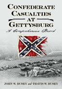 Confederate Casualties at Gettysburg