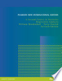 A Second Course in Statistics: Pearson New International Edition