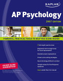Kaplan AP Psychology 2007 Edition