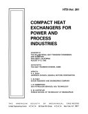 Compact Heat Exchangers for Power and Process Industries