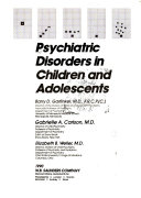 Psychiatric Disorders in Children and Adolescents
