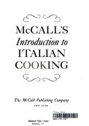 McCall's Introduction to Italian Cooking