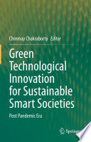 Green Technological Innovation for Sustainable Smart Societies