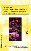 L'exotisme indochinois dans la littérature française [Pdf/ePub] eBook