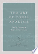 The Art of Tonal Analysis
