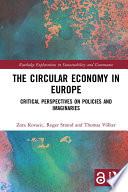 The Circular Economy in Europe