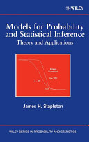 Models for Probability and Statistical Inference