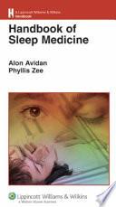 Handbook Of Sleep Medicine Book PDF