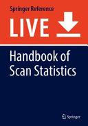 Handbook of Scan Statistics