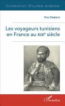 Pdf Les voyageurs tunisiens en France au XIXè siècle Telecharger