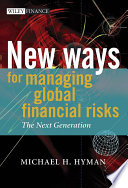 New Ways for Managing Global Financial Risks
