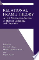Relational Frame Theory Book