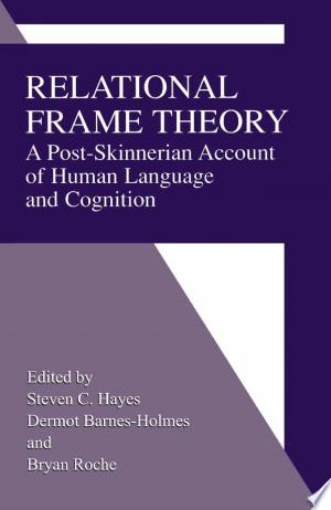 Read Book Relational Frame Theory Free PDF - Read Full Book