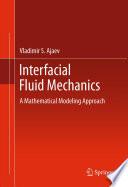 Interfacial Fluid Mechanics Book