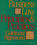 Business Law, Principles and Practices