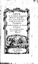 Azor Ou Le Prince Enchanté