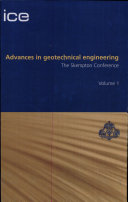 Advances in Geotechnical Engineering