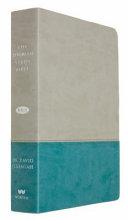 The Jeremiah Study Bible, NKJV: Gray/Teal LeatherLuxe®