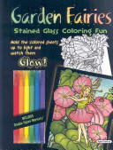 Garden Fairies Stained Glass Coloring Fun