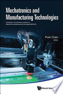 Mechatronics And Manufacturing Technologies Proceedings Of The International Conference Mmt 2016  Book PDF
