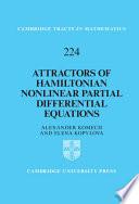 Attractors Of Hamiltonian Nonlinear Partial Differential Equations