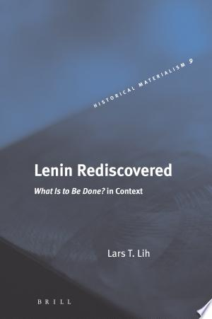 Download Lenin Rediscovered Free Books - Books