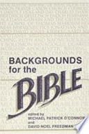 Backgrounds for the Bible