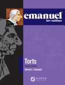 Emanuel Law Outlines for Torts Pdf/ePub eBook