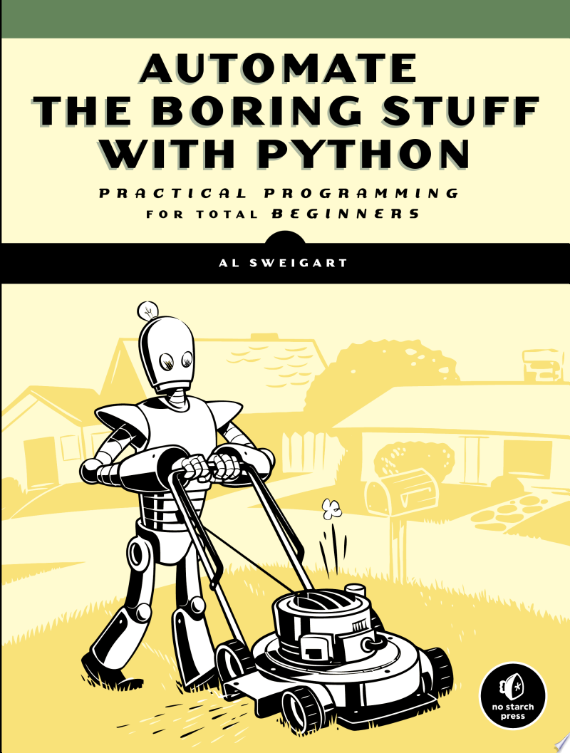 Automate the Boring Stuff with Python image