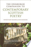 Edinburgh Companion To Contemporary Scottish Poetry