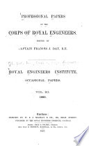 Professional Papers By The Corps Of Royal Engineers Royal Engineers Institute