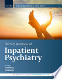 Oxford Textbook of Inpatient Psychiatry Book PDF