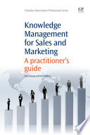 Knowledge Management for Sales and Marketing
