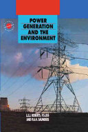 Power Generation and the Environment Book