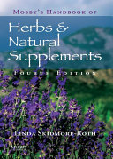 Mosby s Handbook of Herbs   Natural Supplements   E Book