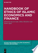 Handbook of Ethics of Islamic Economics and Finance Book