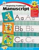 Beginning Traditional Manuscript  Grades K   2